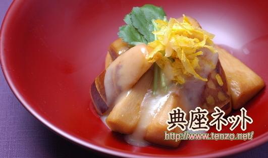 京芋の味噌あえ