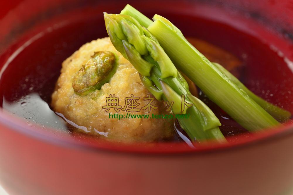 タケノコ団子のすまし汁