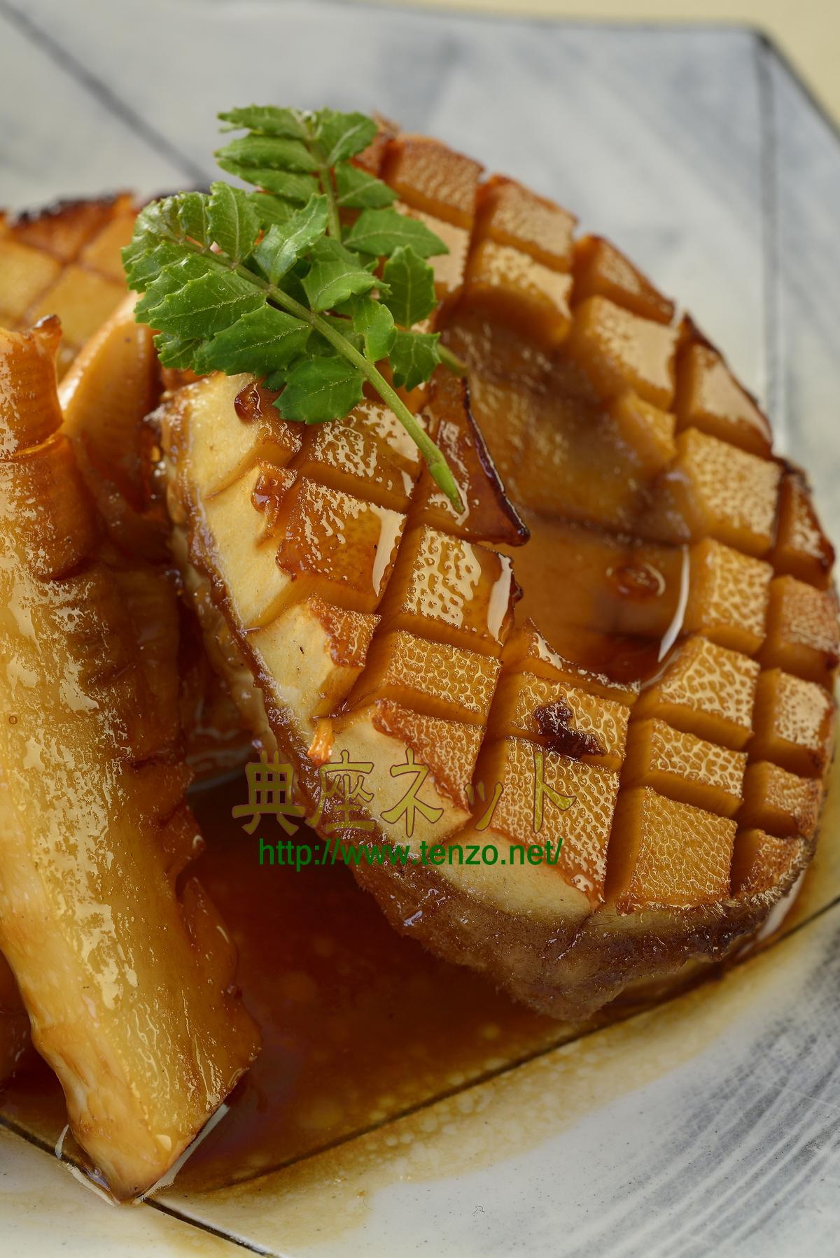 タケノコの照り焼きステーキ