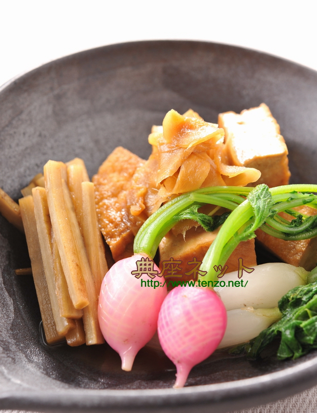 新生姜の煮物