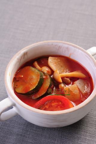 夏の精進トマト汁
