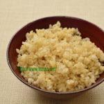 玄米麦ご飯