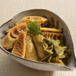 真竹の味噌煮