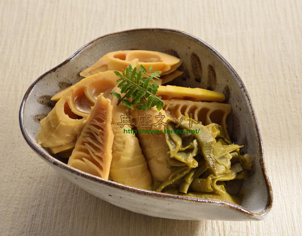 マダケの味噌煮