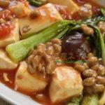 精進納豆麻婆豆腐