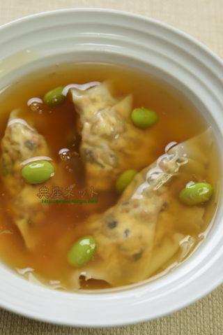 精進ワンタンスープ