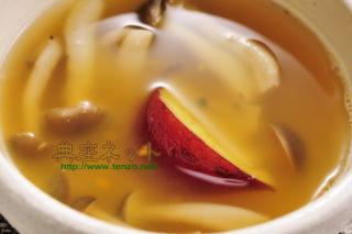 サツマイモのすり流し汁