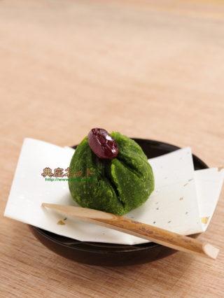 えんどう豆の茶巾_精進スイーツ