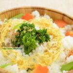 菜の花の精進ちらし寿司